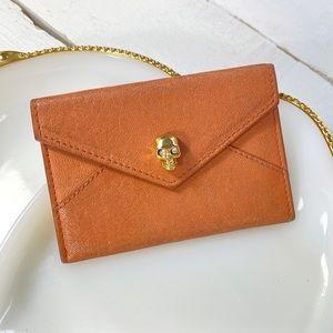 Alexander McQueen Envelope Card Holder